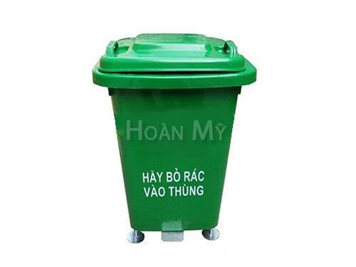Thùng rác nhựa 60 lít có đạp chân