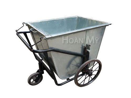 xe gom rác 400 lít bằng tôn