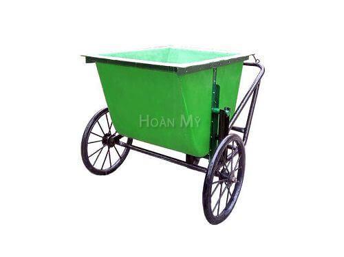 xe gom rác 500 lít bằng composite