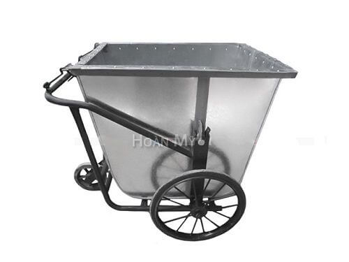 xe gom rác 500 lít bằng tôn