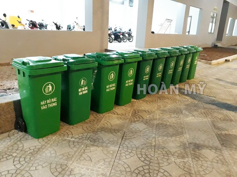 Thùng rác Inox cho TNF