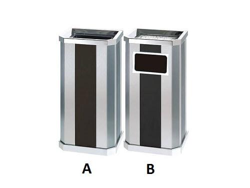 thùng rác inox b-061